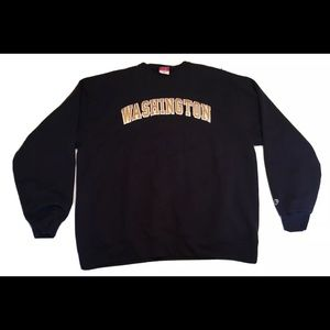 Mens 2XL Champion Stitched Washington Sweatshirt